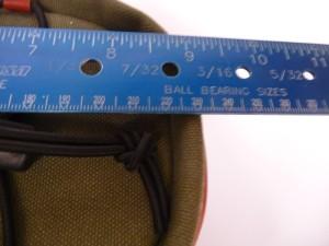 1903 Zimbale front rack bag 34