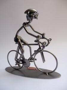 2431 Ciclista metallo