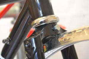 5616 Montiamo la bici parafanghi portapacchi Surly Cross Check 128