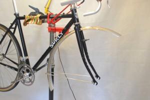 5619 Montiamo la bici parafanghi portapacchi Surly Cross Check 131