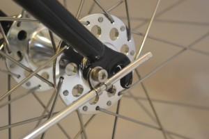 5629 Montiamo la bici parafanghi portapacchi Surly Cross Check 141