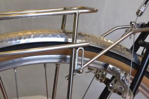 5658 Montiamo la bici parafanghi portapacchi Surly Cross Check 170