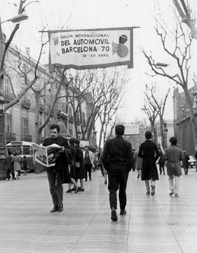 García Márquez en Barcelona (1970) María dos Prazeres