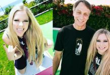 Avril Lavigne y Tony Hawk
