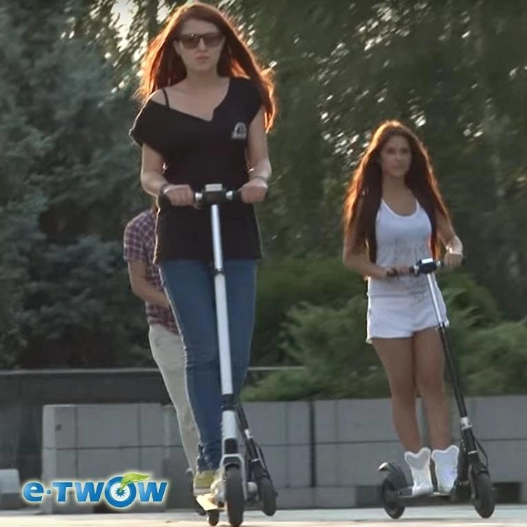 patinete eléctrico etwow