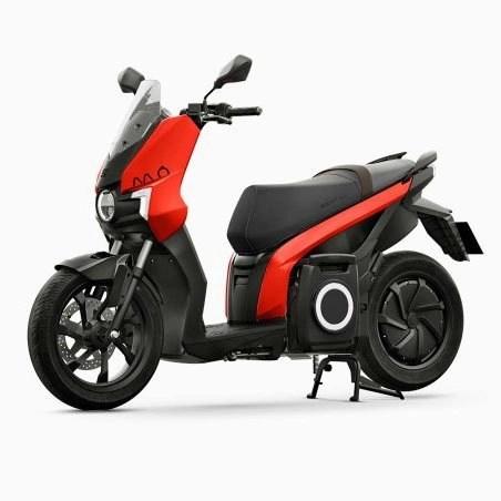 seat e-scooter rojo