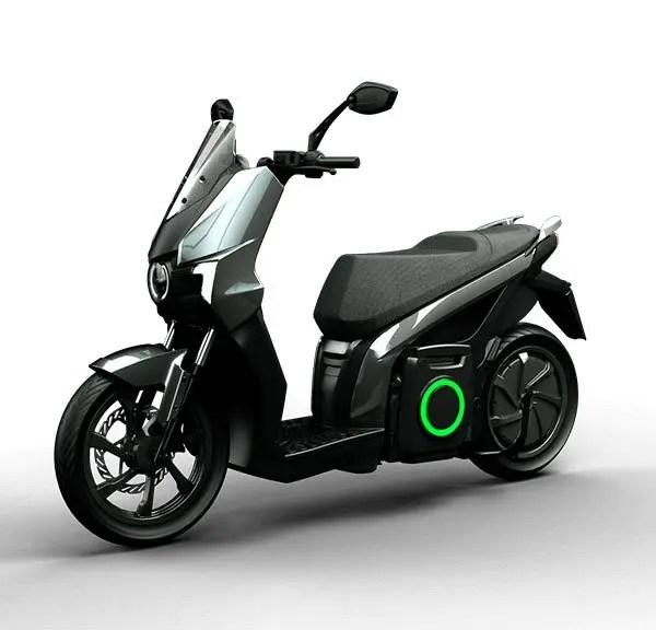 moto eléctrica silence S01 negra