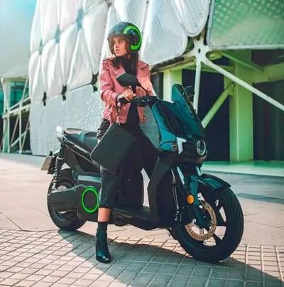 moto eléctrica silence S01