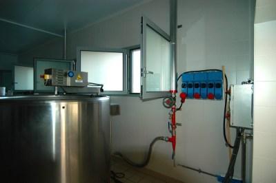Gruppo prese per macchine laboratorio
