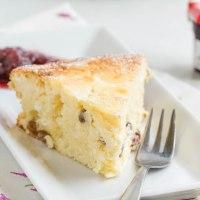 Egyszerű és gyors túrós süti (cukor-és gluténmentes)