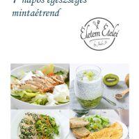 7 napos egészséges mintaétrend (letölthető)