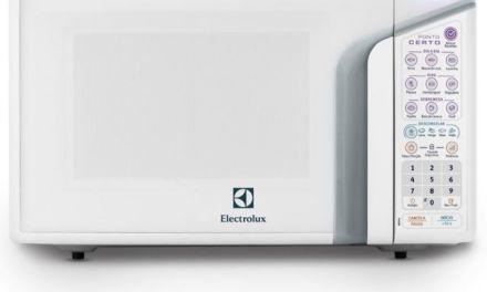 Manual de Instruções do Microondas Electrolux Ponto Certo 31L – MEP41