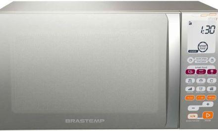 Como ajustar o relógio do microondas Brastemp Ative 30 litros – BMT45