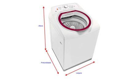 Medidas de Máquina de Lavar Roupas Brastemp – Modelos