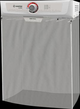 Secadora de roupas Wanke 8Kg - Luana