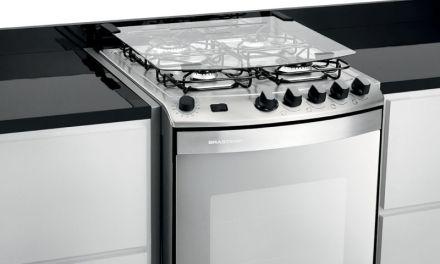 Manual de instruções do fogão Brastemp 4B embutir – BYS4GAR