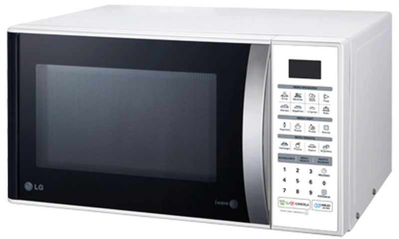 Medidas do Microondas LG 30 litros Branco - MS3052R