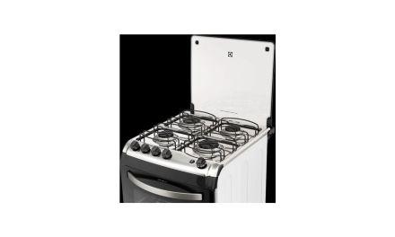 Manual de instruções do fogão de piso Electrolux 4 bocas 52SBL