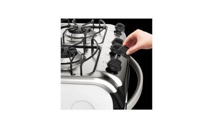 Solução de problemas do fogão Electrolux 4 bocas de piso – 52SMC