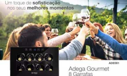 Medidas de Adega Climatizada Cadence Touch 8 Garrafas
