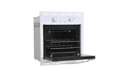 Medidas do Forno a Gás de Embutir Venax 50L Bianco