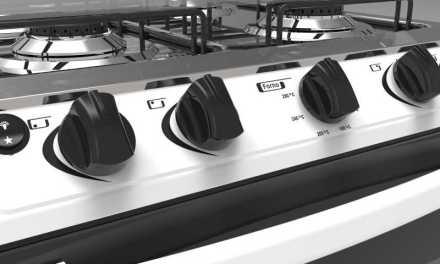 Medidas do Fogão a Gás Realce 4 bocas Cronos