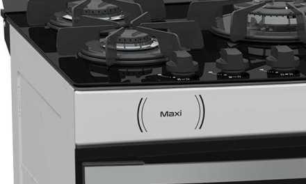 Medidas do Fogão de Piso a Gás Venax Maxi Vitreo 5Q Branco