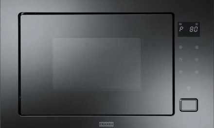 Medidas do Microondas de Embutir Franke 25L – Crystal Vidro preto FMW250