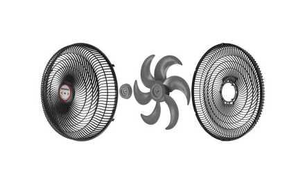Medidas do Ventilador Mondial 40 cm Turbo Tech 6 Pás – VT-RP-03