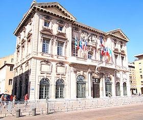 utazás lakóautóval Marseille - városháza (Hotel de Ville)