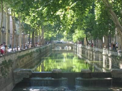 Utazás lakóautóval Avignon - Nimes, Canal du Midi