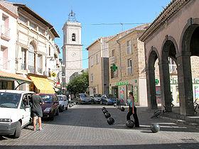 Utazás lakóautóval Béziers - Marseillan, belváros