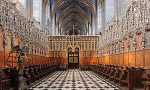 Toulouse lakóautóval - Albi, katedrális díszes belső