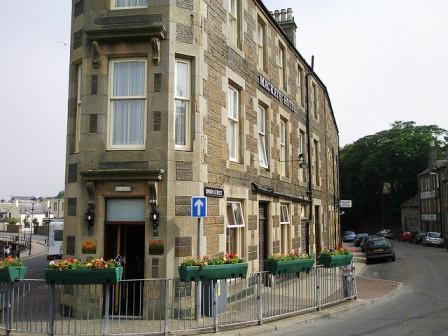 A legrövidebb utca - Ebenezer Place, Skócia, Egyesült Királyság