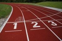 Evangelio apc Pista atletismo