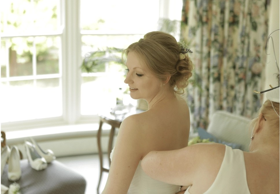 Wedding Hair and Makeup Tori Harris Rectory Farm Cambridge