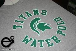 Kelly Green/White - Gray T-shirt Elevate Creation Design (Whittier, CA)