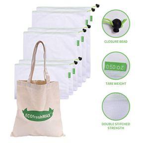 New Zealand's Pillars of Wellness Sustainability  Reusable bags