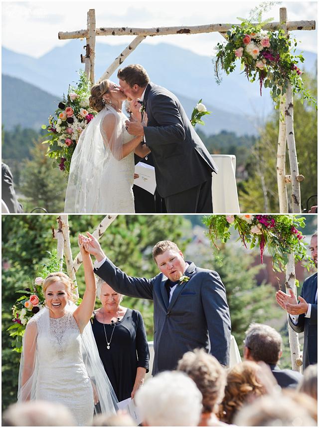 Kristen Keith Stanley Hotel Wedding Photos Denver