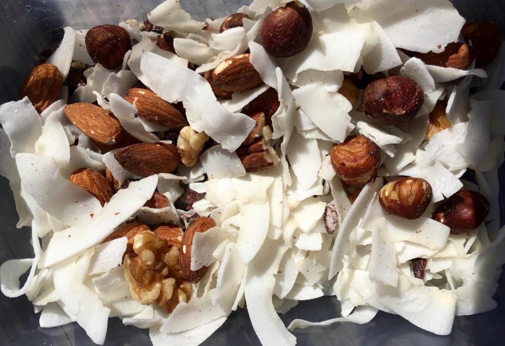 Coconut Triple-Nut Yogurt