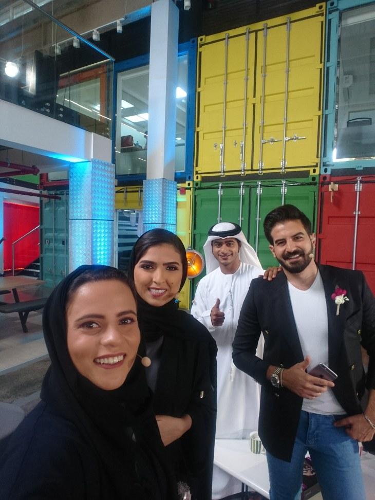 Hanady alhashmi and the crew of jeel alsaada