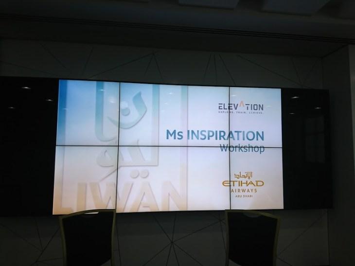 presentation by Hanady Alhashmi fro etihad airways