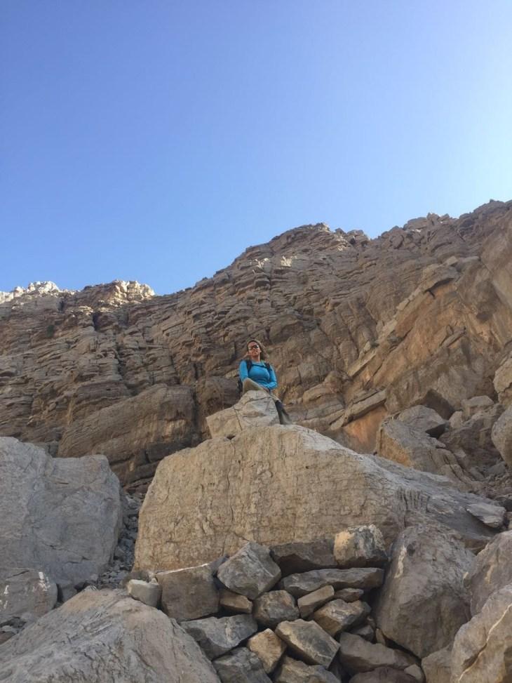 hanady alhashmi hiking