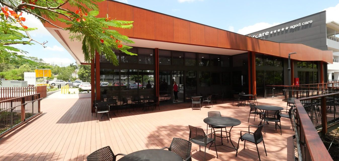 Arcare Springwood External Cafe