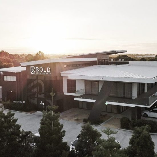 Bold Showroom Office External Aerial Drone