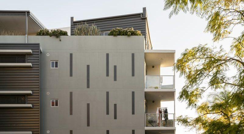 Little Street Apartments External Building