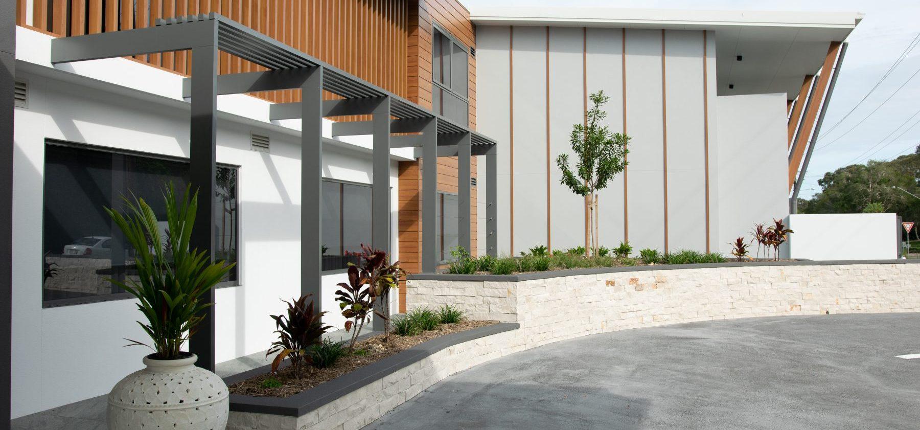 Arcare Noosa External Entrance