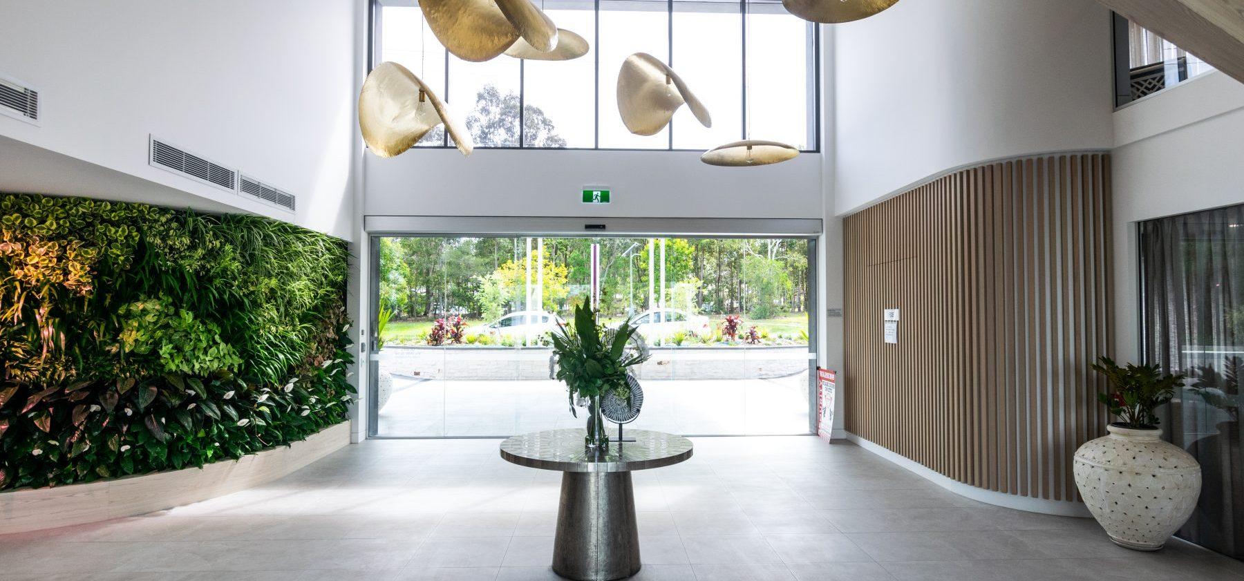 Arcare Noosa Internal Entrance