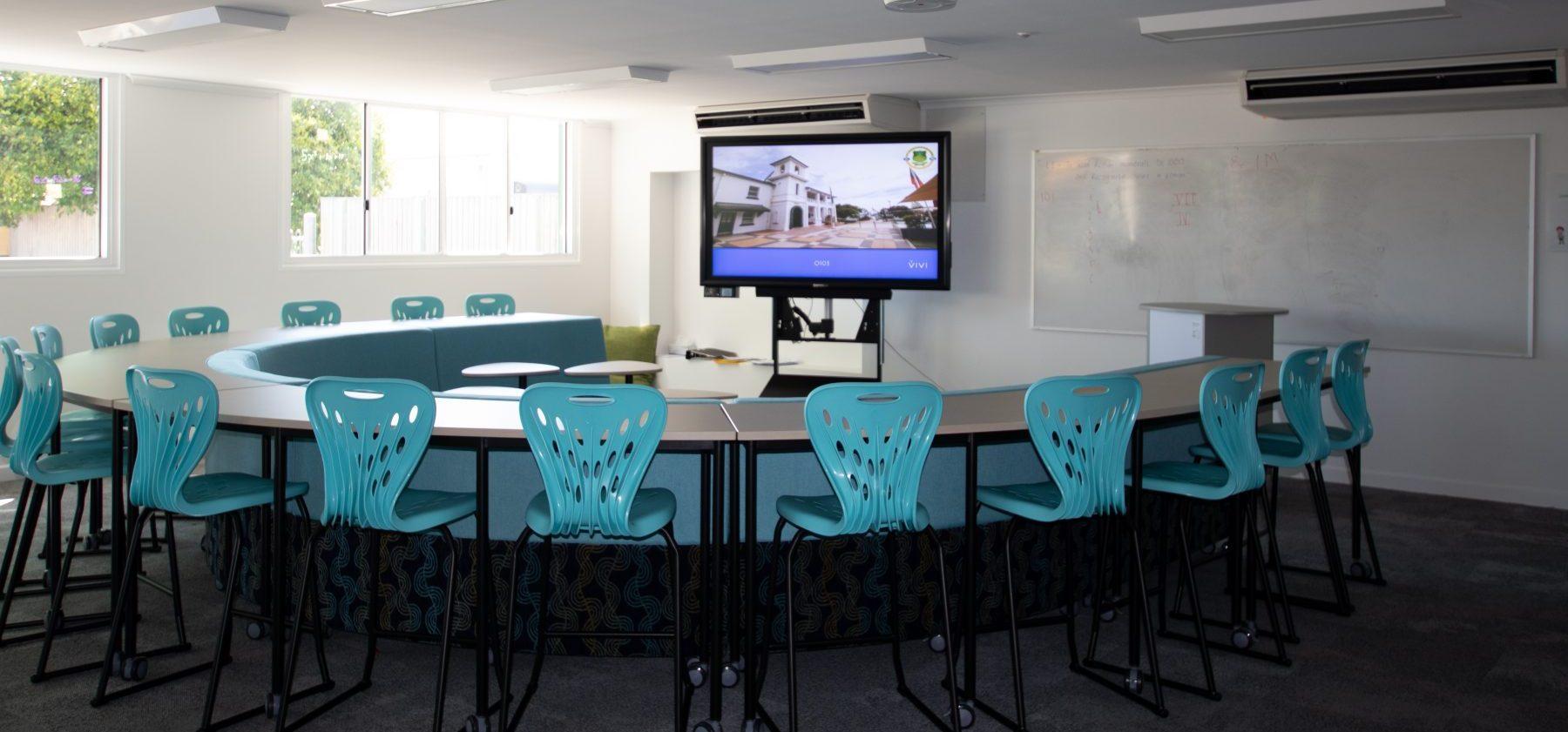 St Patricks College Interior Learning Centre