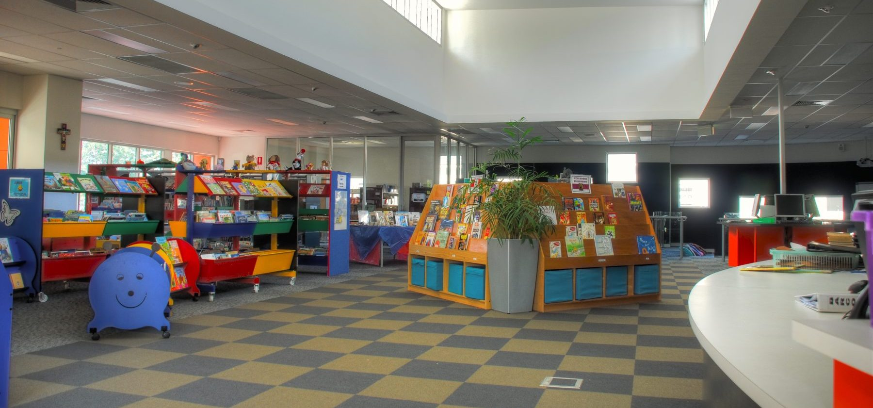 Grace Lutheran Primary Interior Library